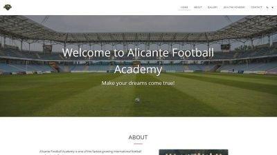 Alicante Football Academy