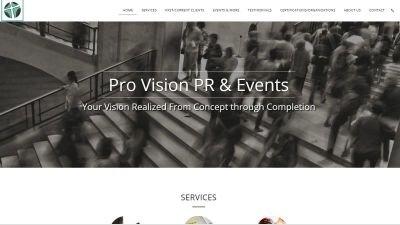 Pro Vision PR & Events
