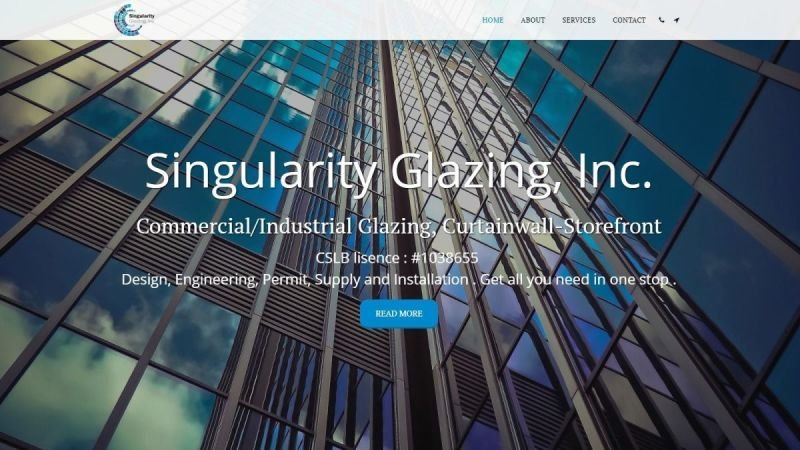 Singularity Glazing
