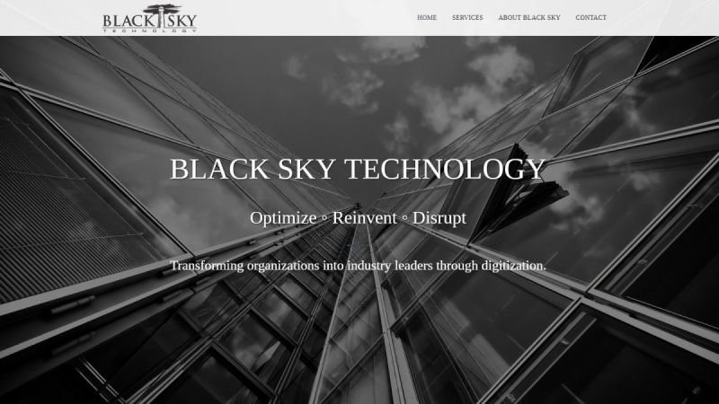 BLACK SKY TECHNOLOGY