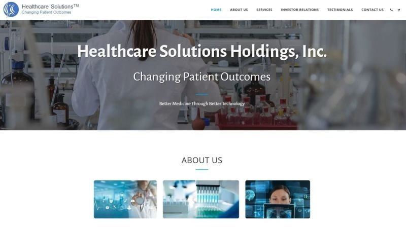 Healthcare Solutions Holdings, Inc.