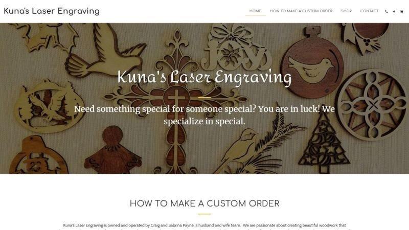 Kuna's Laser Engraving