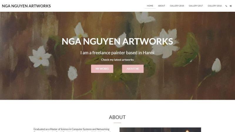 NGA NGUYEN ARTWORKS