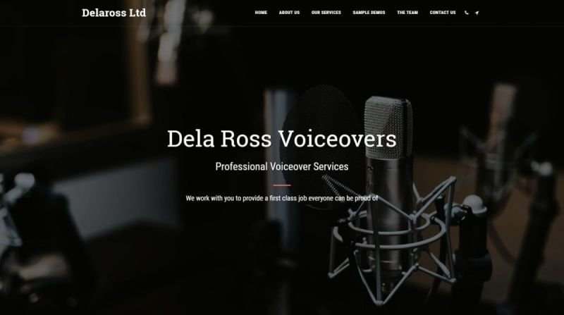 Dela Ross Voiceovers