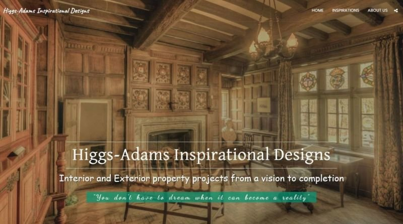 Higgs-Adams Inspirational Designs