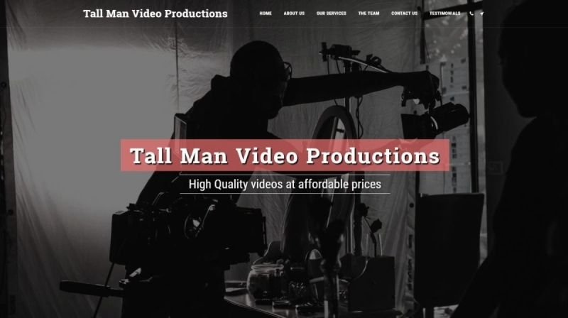 Tall Man Video Productions