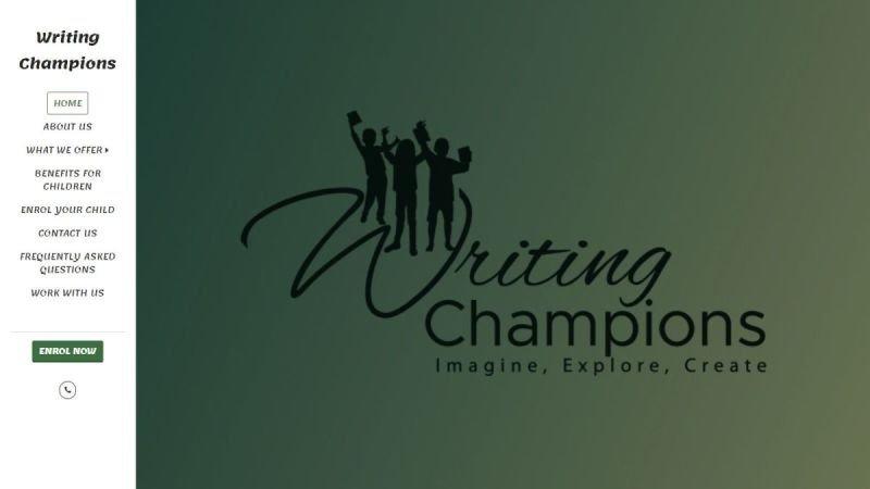 Writing Champions
