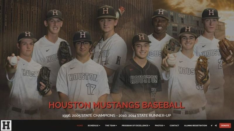 HOUSTON MUSTANGS BASEBALL