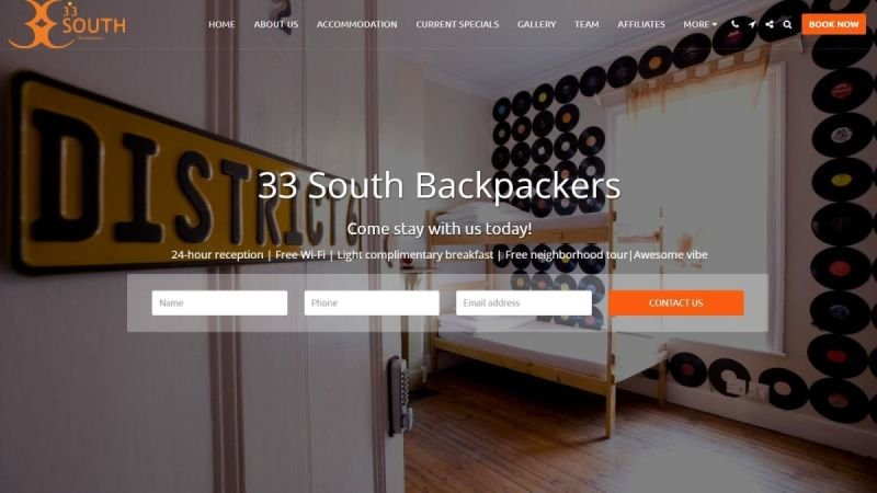 33 South Backpackers