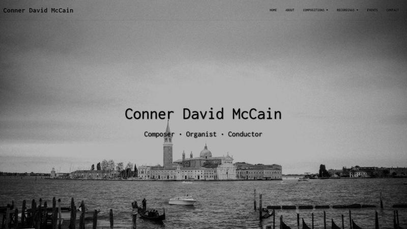 Conner David McCain