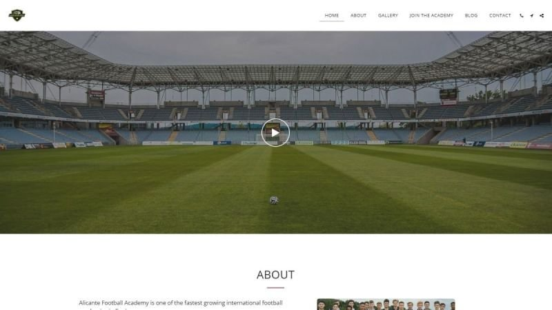 Alicante Football Academy