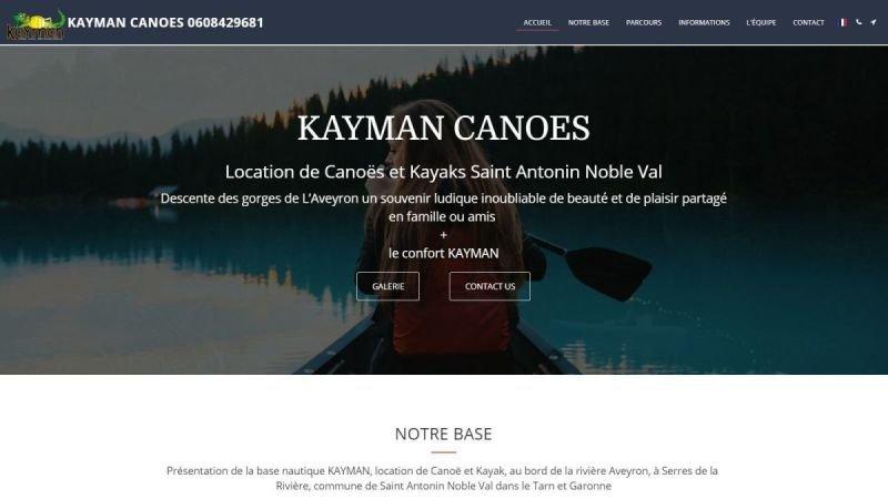KAYMAN CANOES