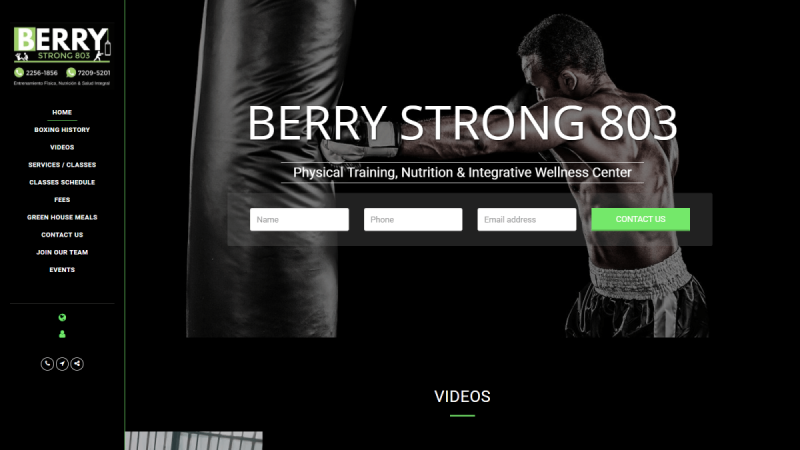 BERRY STRONG 803