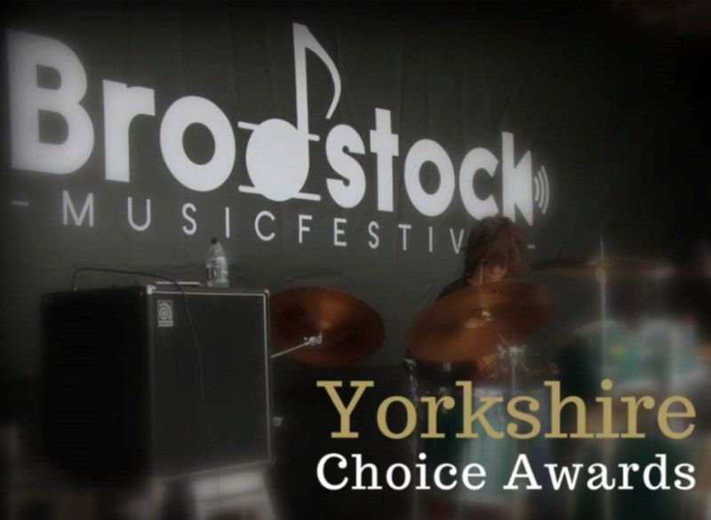 Afterglow perform for the Brodstock pre launch party in Halifax, West Yorkshire