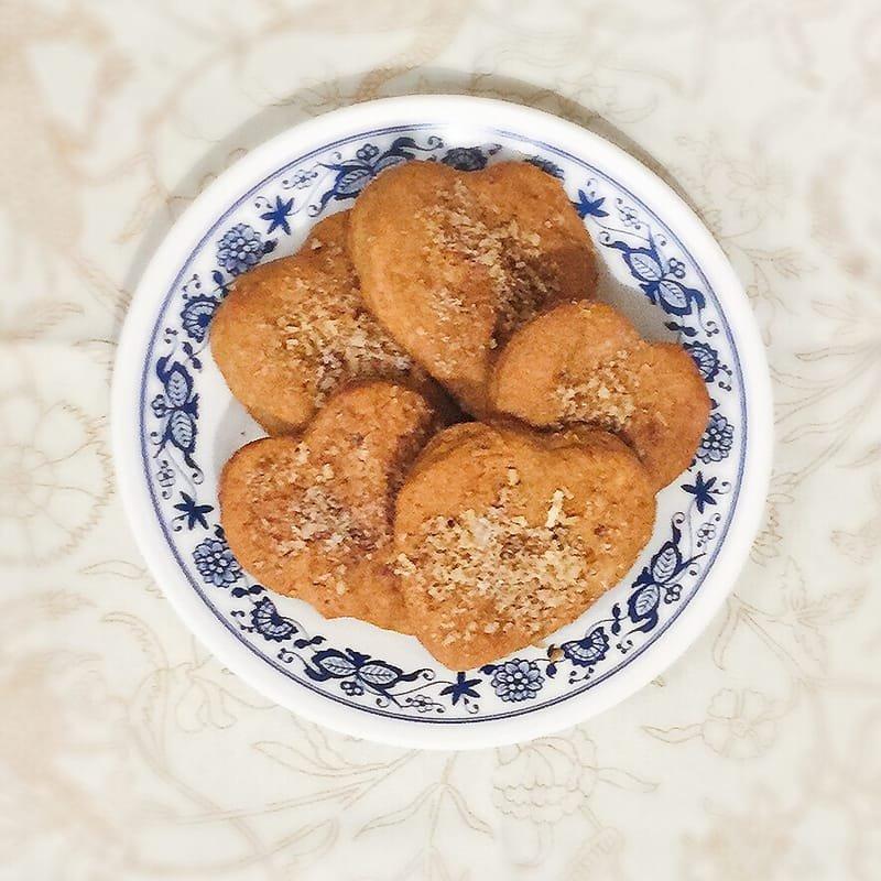 Homemade cinnamon cookies