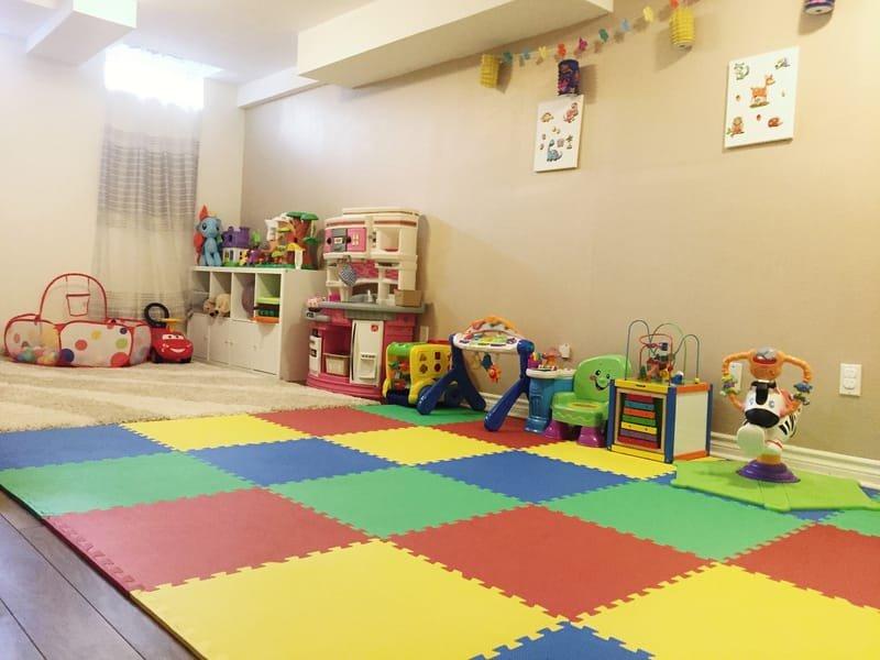 Playroom, lower level