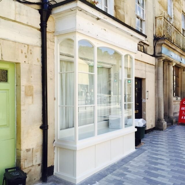 Former shop front in Bath