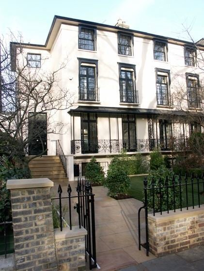 Double glazed sashes in Holland Park London