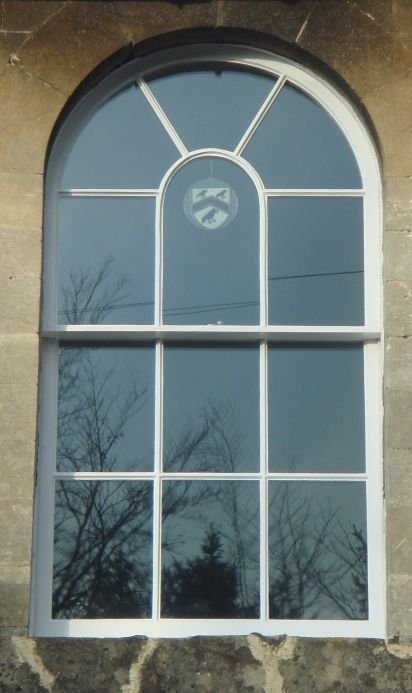Double glazed radial arched sashes , North Wiltshire