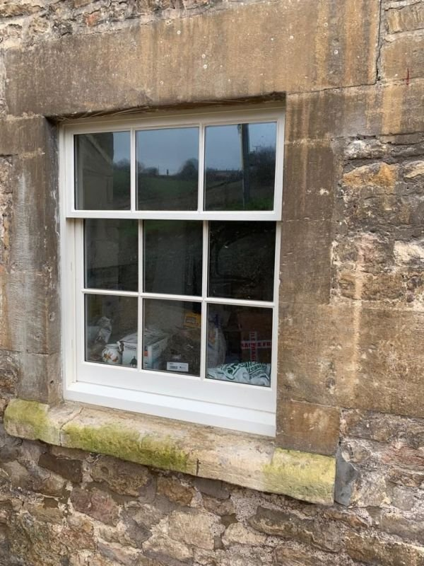 Bespoke Sliding sash install outside of Bath