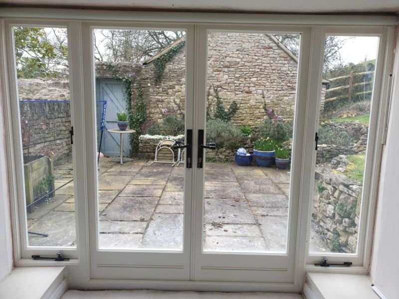 Bath - Bespoke French door set, Triple casement window & French Casement