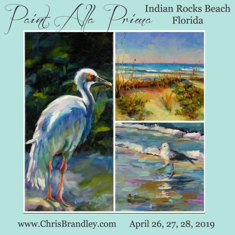 Paint Alla Prima-Indian Rocks Beach, FL
