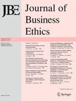 A Theory of Business Eunomics: