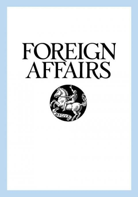 Foreign Affairs: Not Just A Magazine
