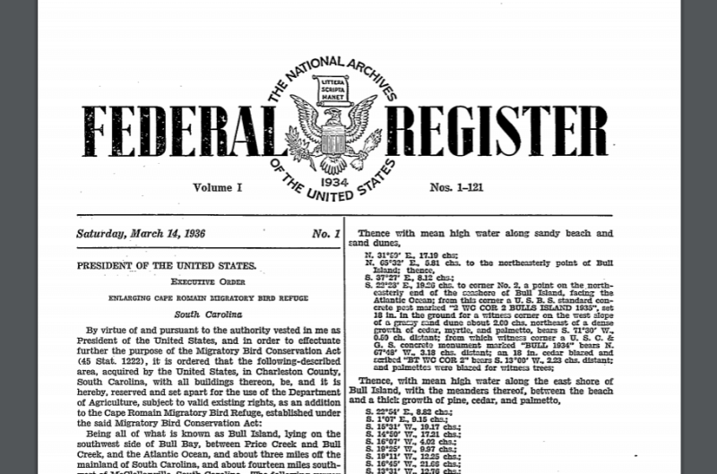 The Federal Register Daily Journal