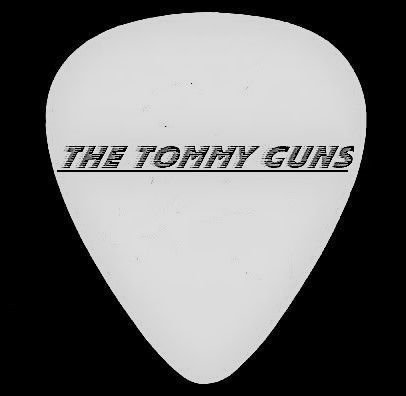 The Tommy Guns Guitar Pick