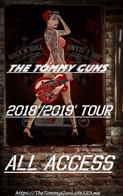 2018' / 2019' Backstage Passes