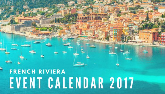 Event calendar 2017