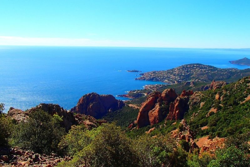 Esterel & Mediterranean Sea