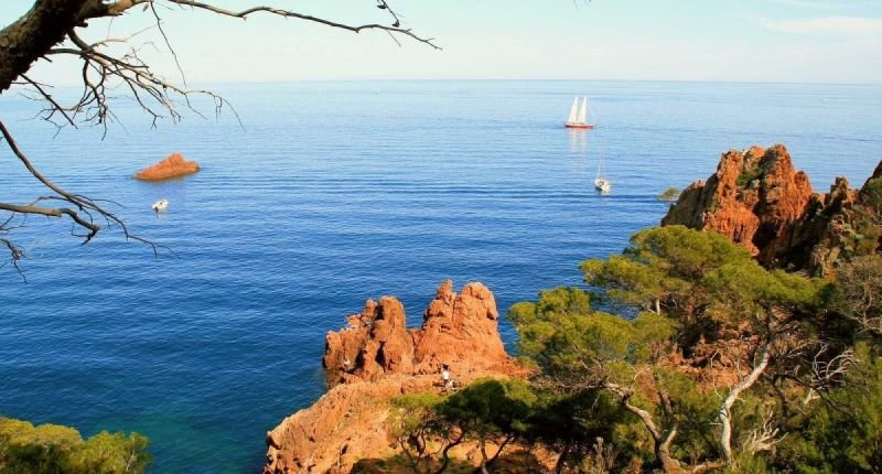 View from the Esterel