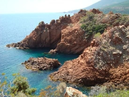 Beach in the Esterel