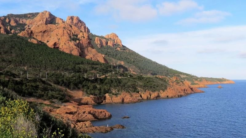 View on the Esterel