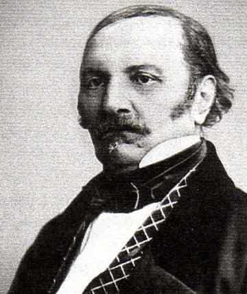 PORTRAIT Hippolyte Rivail (1804-1869), alias Allan Kardec