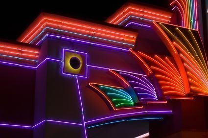 Neon Signs In Advertisements
