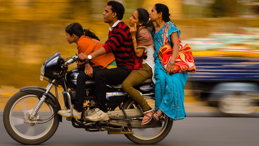 panning motocicletta