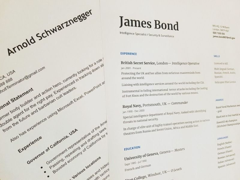 How to write a Resume/CV for the Migration purpose to Australia?