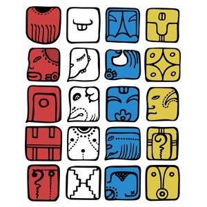 20 הסמלים של המאיה