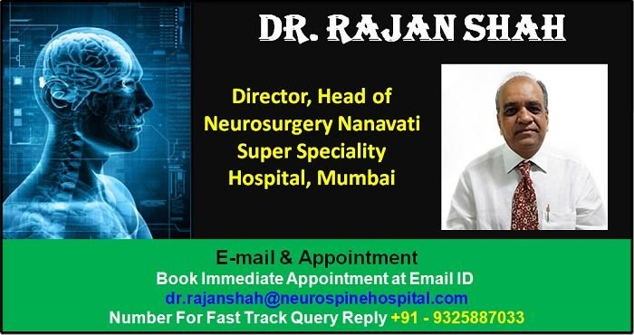 Dr  Rajan Shah Top Neurosurgeon in Mumbai Specialize in