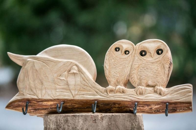 Owls cloth hanger