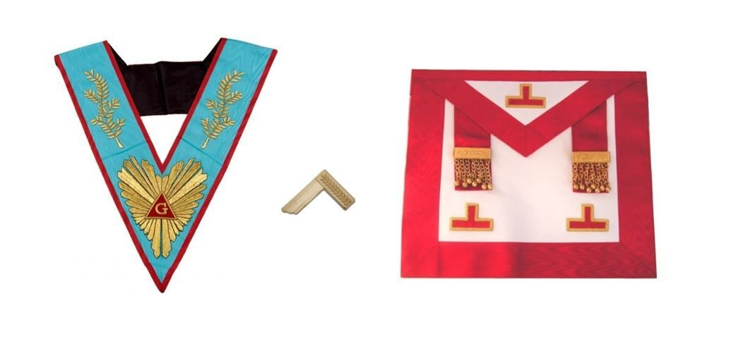 Worshipful Master Kit/Past Worshipful Master-Apron +