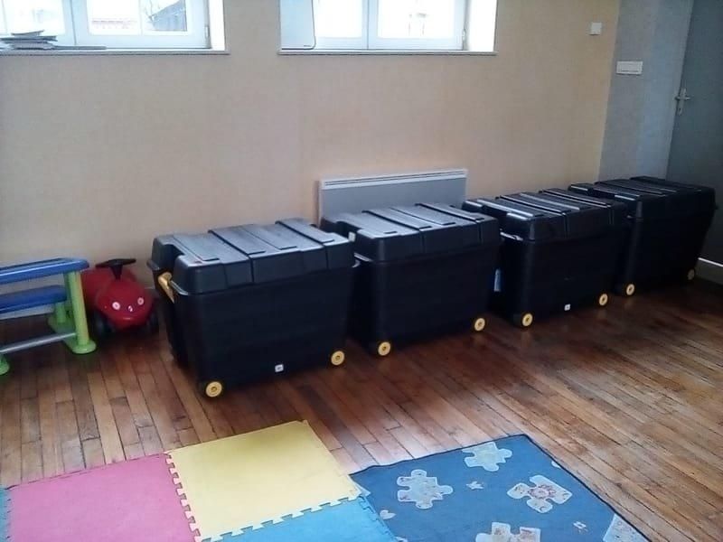 Les wagons du Petit Train (Manheulles)
