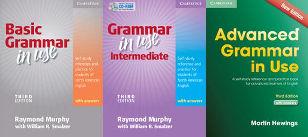 کتاب Grammar in Use برای آموزش مکالمه زبان انگلیسی