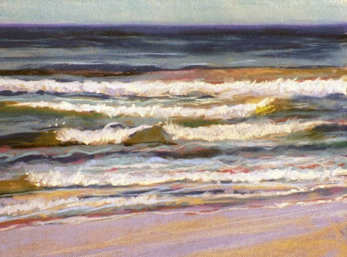Pastels Seascapes