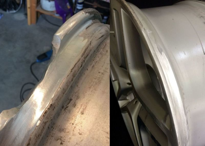 Mercedes Severe Rim Damage |  Alloywheelwelding.co.uk