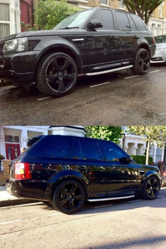 Range Rover Refurb/Gloss Black | Alloywheelwelding.co.uk