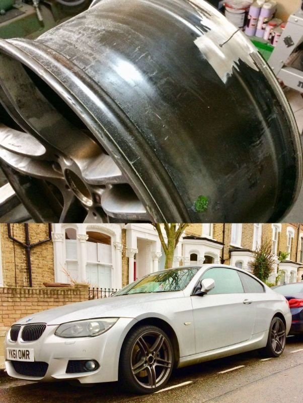 BMW 325i Cracks/Buckle/ Refurb | Alloywheelwelding.co.uk
